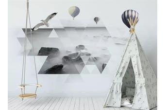 3D Home Wallpaper Diamond Patchwork 1444 ACH Wall Murals Woven paper (need glue), XL 208cm x 146cm (WxH)(82''x58'')