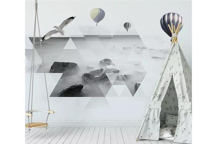 3D Home Wallpaper Diamond Patchwork 1444 ACH Wall Murals Woven paper (need glue), XXXXL 520cm x 290cm (WxH)(205''x114'')
