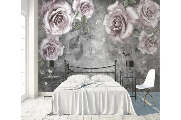 3D Home Wallpaper Flower 1432 ACH Wall Murals Self-adhesive Vinyl, XXXL 416cm x 254cm (WxH)(164''x100'')