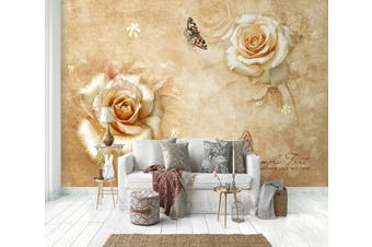 3D Home Wallpaper Flower 1430 ACH Wall Murals Self-adhesive Vinyl, XL 208cm x 146cm (WxH)(82''x58'')