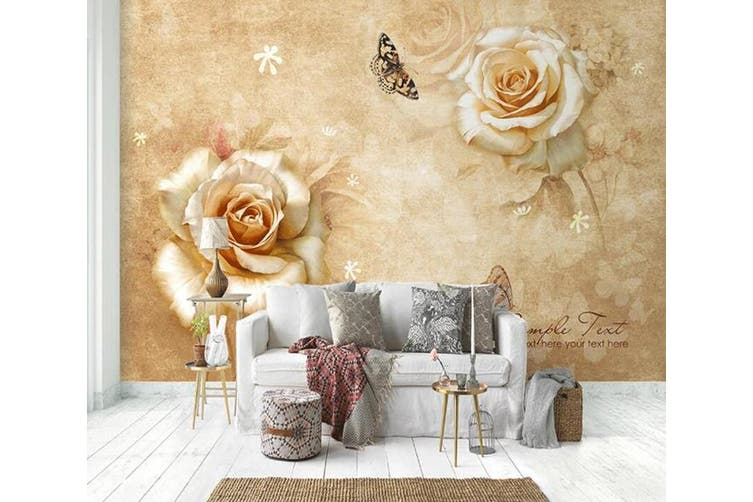 3D Home Wallpaper Flower 1430 ACH Wall Murals Self-adhesive Vinyl, XXL 312cm x 219cm (WxH)(123''x87'')