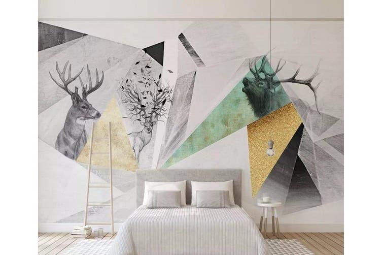 3D Home Wallpaper Pattern Patchwork 1428 ACH Wall Murals Self-adhesive Vinyl, XL 208cm x 146cm (WxH)(82''x58'')