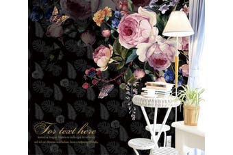 3D Home Wallpaper Flower 1424 ACH Wall Murals Woven paper (need glue), XXXXL 520cm x 290cm (WxH)(205''x114'')
