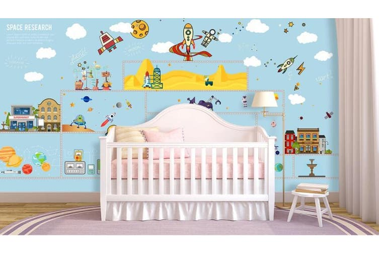 3D Home Wallpaper Lovely City 1419 ACH Wall Murals Woven paper (need glue), XXXXL 520cm x 290cm (WxH)(205''x114'')
