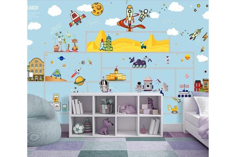 3D Home Wallpaper Lovely City 1419 ACH Wall Murals Self-adhesive Vinyl, XXL 312cm x 219cm (WxH)(123''x87'')