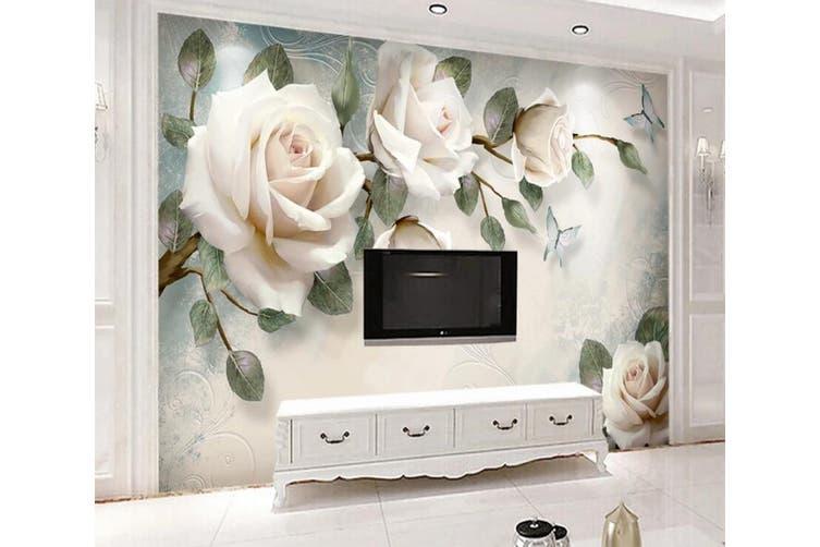 3D Home Wallpaper Flower 1412 ACH Wall Murals Self-adhesive Vinyl, XL 208cm x 146cm (WxH)(82''x58'')