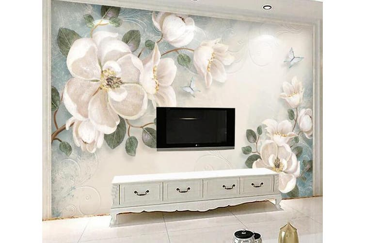3D Home Wallpaper Flower 1411 ACH Wall Murals Self-adhesive Vinyl, XXXL 416cm x 254cm (WxH)(164''x100'')
