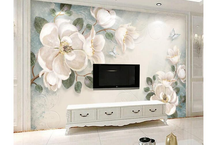 3D Home Wallpaper Flower 1411 ACH Wall Murals Self-adhesive Vinyl, XXXXL 520cm x 290cm (WxH)(205''x114'')