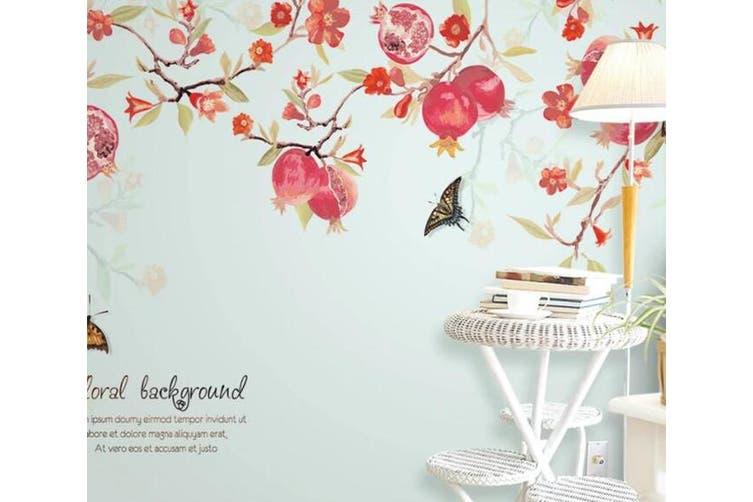 3D Home Wallpaper Flower Butterfly 14Y ACH Wall Murals Self-adhesive Vinyl, XXXXL 520cm x 290cm (WxH)(205''x114'')