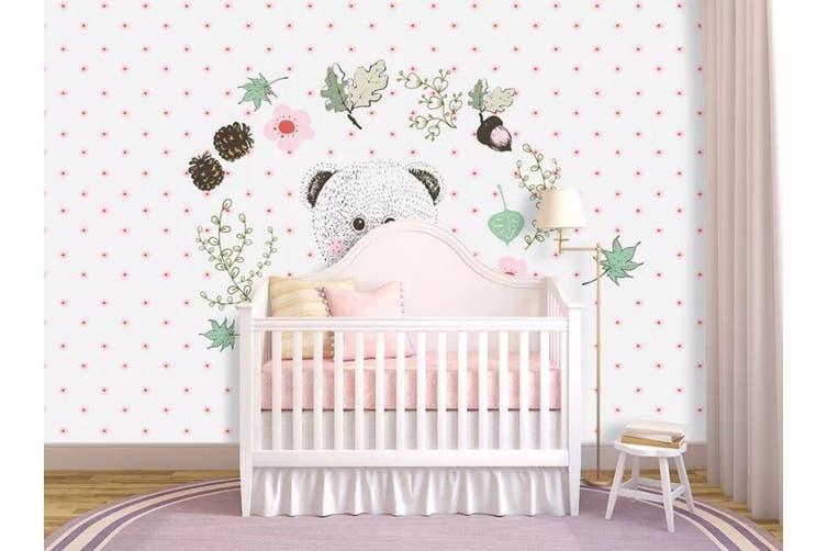 3D Home Wallpaper Bear D99 ACH Wall Murals Woven paper (need glue), XXXXL 520cm x 290cm (WxH)(205''x114'')