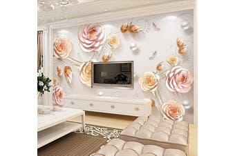 3D Home Wallpaper Flower D96 ACH Wall Murals Self-adhesive Vinyl, XXXL 416cm x 254cm (WxH)(164''x100'')