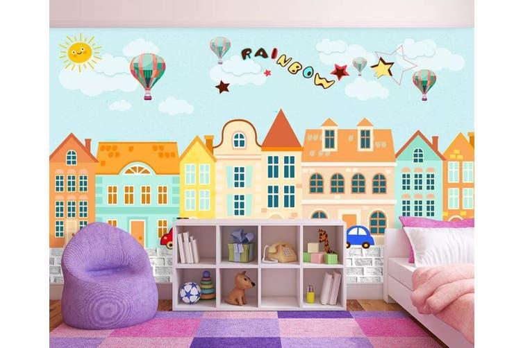 3D Home Wallpaper Urban Color D88 ACH Wall Murals Woven paper (need glue), XXXXL 520cm x 290cm (WxH)(205''x114'')