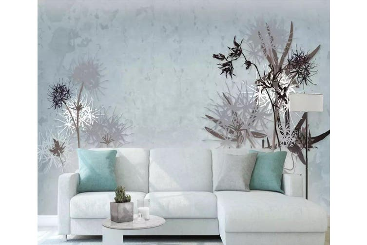 3D Home Wallpaper Dandelion D80 ACH Wall Murals Self-adhesive Vinyl, XXXL 416cm x 254cm (WxH)(164''x100'')
