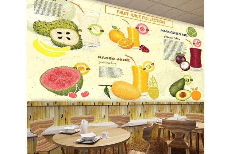 3D Home Wallpaper Sandwich D72 Food ACH Wall Murals Self-adhesive Vinyl, XXL 312cm x 219cm (WxH)(123''x87'')