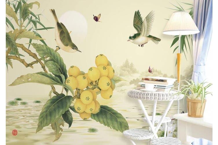 3D Home Wallpaper Ostrich D71 ACH Wall Murals Self-adhesive Vinyl, XXL 312cm x 219cm (WxH)(123''x87'')