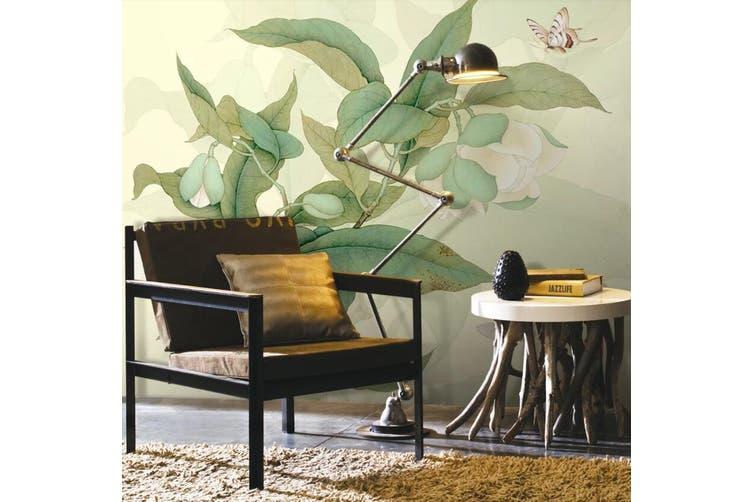 3D Home Wallpaper Leaves D70 ACH Wall Murals Self-adhesive Vinyl, XXXXL 520cm x 290cm (WxH)(205''x114'')