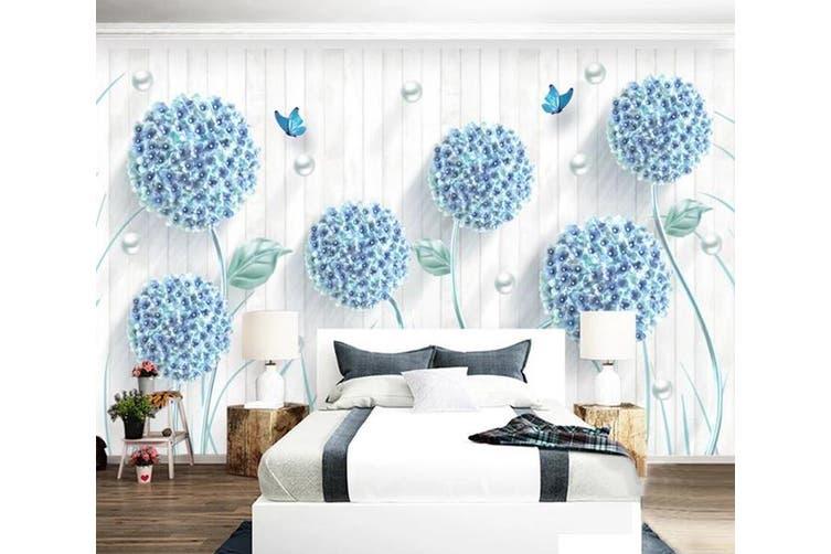 3D Home Wallpaper Dandelion D63 ACH Wall Murals Woven paper (need glue), XXXL 416cm x 254cm (WxH)(164''x100'')