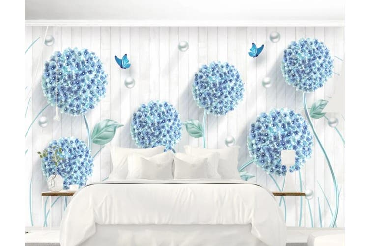 3D Home Wallpaper Dandelion D63 ACH Wall Murals Self-adhesive Vinyl, XXL 312cm x 219cm (WxH)(123''x87'')