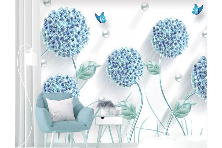3D Home Wallpaper Dandelion D63 ACH Wall Murals Self-adhesive Vinyl, XXXL 416cm x 254cm (WxH)(164''x100'')