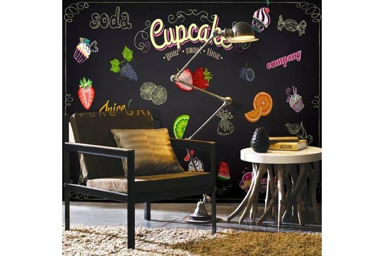 3D Home Wallpaper Strawberry Orange D60 Food ACH Wall Murals Woven paper (need glue), XXXXL 520cm x 290cm (WxH)(205''x114'')