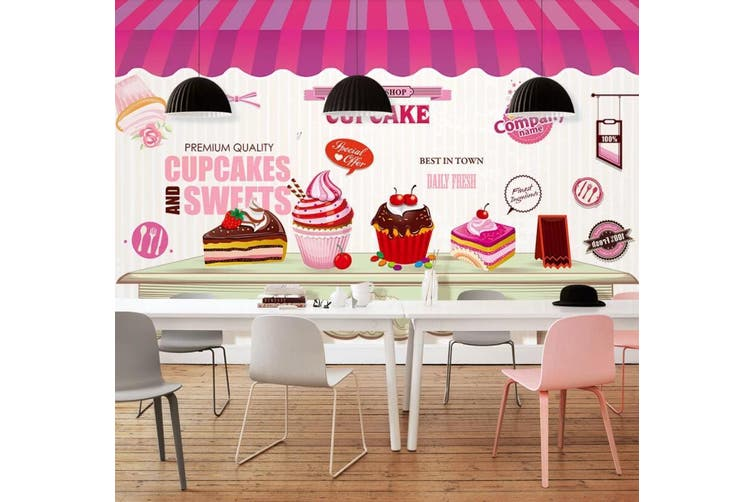 3D Home Wallpaper Ice Cream D59 Food ACH Wall Murals Self-adhesive Vinyl, XXXXL 520cm x 290cm (WxH)(205''x114'')