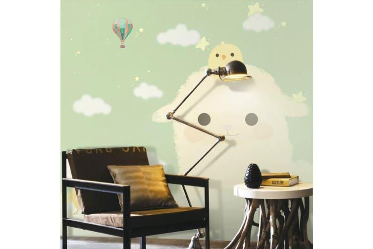 3D Home Wallpaper Cloud Baby D54 ACH Wall Murals Self-adhesive Vinyl, XXXL 416cm x 254cm (WxH)(164''x100'')