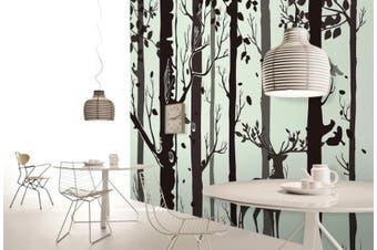 3D Home Wallpaper Black Tree D53 ACH Wall Murals Woven paper (need glue), XXXXL 520cm x 290cm (WxH)(205''x114'')