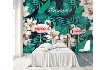 3D Home Wallpaper Flamingo D48 ACH Wall Murals Woven paper (need glue), XXXXL 520cm x 290cm (WxH)(205''x114'')