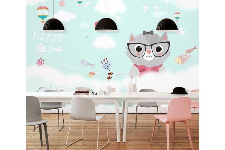 3D Home Wallpaper Mouse D46 ACH Wall Murals Self-adhesive Vinyl, XXL 312cm x 219cm (WxH)(123''x87'')