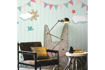 3D Home Wallpaper Cat D45 ACH Wall Murals Self-adhesive Vinyl, XXL 312cm x 219cm (WxH)(123''x87'')