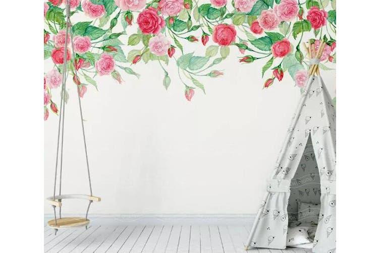 3D Home Wallpaper Hundred Flowers D42 ACH Wall Murals Woven paper (need glue), XL 208cm x 146cm (WxH)(82''x58'')