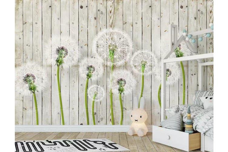 3D Home Wallpaper Dandelion D38 ACH Wall Murals Woven paper (need glue), XXXL 416cm x 254cm (WxH)(164''x100'')