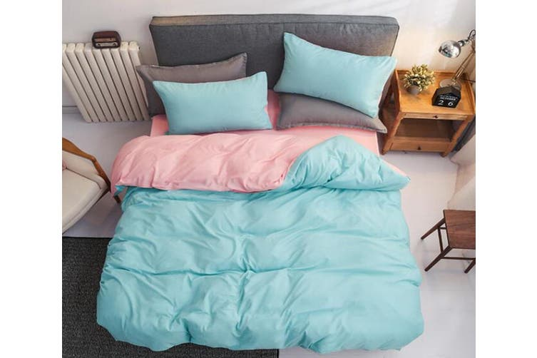 3d Mint Green Pink 2135 Quilt Cover Set, Mint Green And Pink Bedding