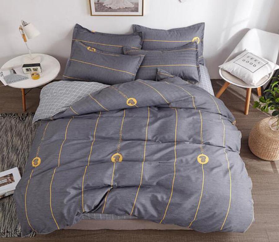 3d Dark Gray Bottom Yellow Lines 2020 Quilt Cover Set Bedding Set Pillowcases 3d Duvet Cover Matt Blatt