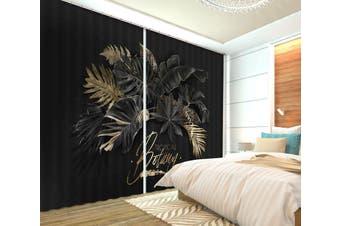 3D Dark Night 126 Curtains Drapes