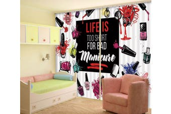 3D Beauty Store 121 Curtains Drapes