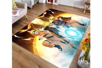 """3D Naruto 4129 Anime Non Slip Rug Mat, 120cmx180cm (47.2""""x70.9"""")"""