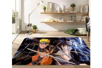 """3D Naruto 5861 Anime Non Slip Rug Mat, 160cmx240cm (63""""x94.5"""")"""