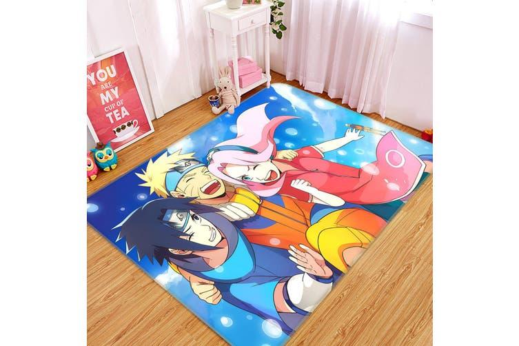 """3D Naruto 6786 Anime Non Slip Rug Mat, 140cmx200cm (55.1""""x78.8"""")"""