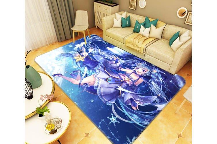 "3D Hatsune Miku 6479 Anime Non Slip Rug Mat, 80cmx120cm (31.4""x47.24"")"