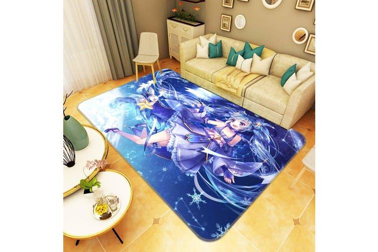 "3D Hatsune Miku 6479 Anime Non Slip Rug Mat, 160cmx240cm (63""x94.5"")"