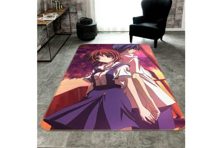 """3D CLANNAD 831 Anime Non Slip Rug Mat, 40cmx60cm (15.7""""x23.6"""")"""