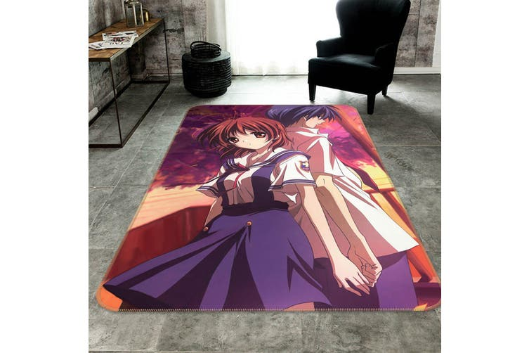 """3D CLANNAD 831 Anime Non Slip Rug Mat, 120cmx180cm (47.2""""x70.9"""")"""