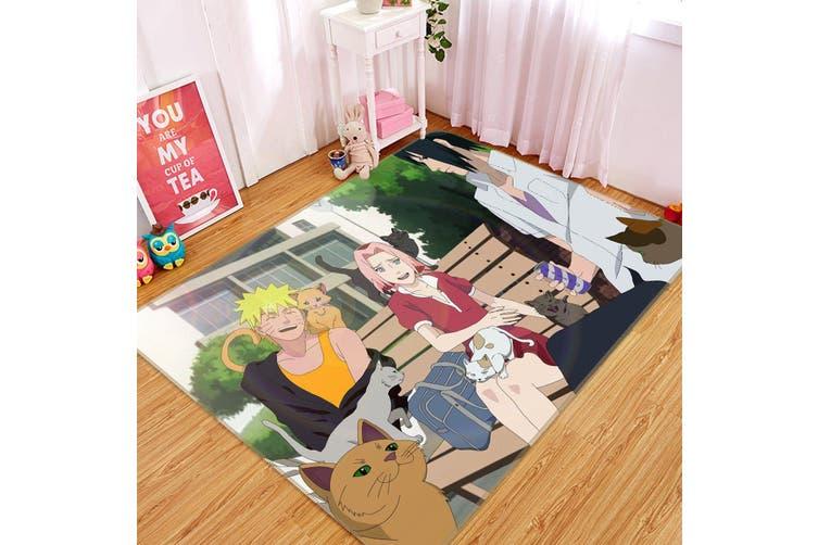 """3D NARUTO 55 Anime Non Slip Rug Mat, 140cmx200cm (55.1""""x78.8"""")"""