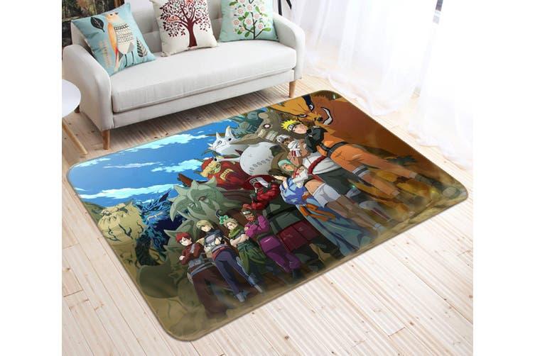 """3D NARUTO 53 Anime Non Slip Rug Mat, 120cmx180cm (47.2""""x70.9"""")"""