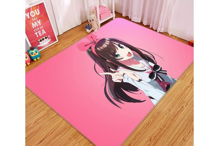 """3D Kizuna Ai 243 Anime Non Slip Rug Mat, 120cmx180cm (47.2""""x70.9"""")"""