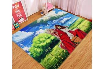 "3D Inuyasha 81 Anime Non Slip Rug Mat, 160cmx240cm (63""x94.5"")"