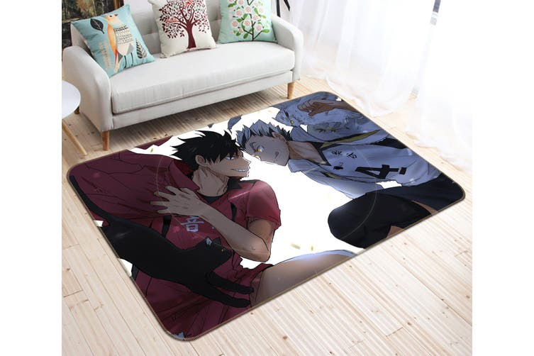 """3D Haikyu!! 47 Anime Non Slip Rug Mat, 40cmx60cm (15.7""""x23.6"""")"""