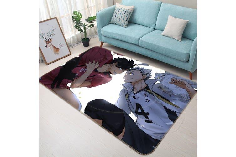 """3D Haikyu!! 47 Anime Non Slip Rug Mat, 80cmx120cm (31.4""""x47.24"""")"""