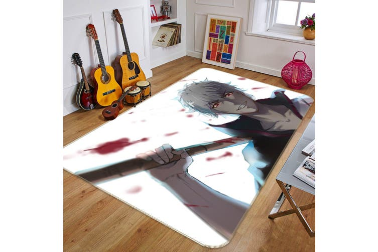 "3D Gintama 347 Anime Non Slip Rug Mat, 140cmx200cm (55.1""x78.8"")"
